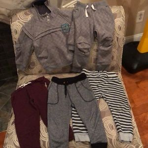 Other - Lot of one sweatsuit and 3 sweat pants
